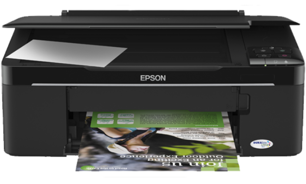 one printer devices that tin sack endure used for printing Epson Stylus™ TX121 Driver Download